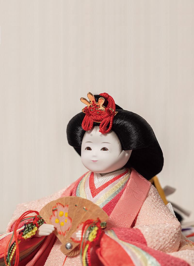 ふわり雛人形